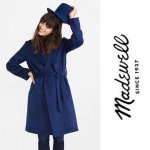 Madewell | Shawl-coat Wrap in Night Sky